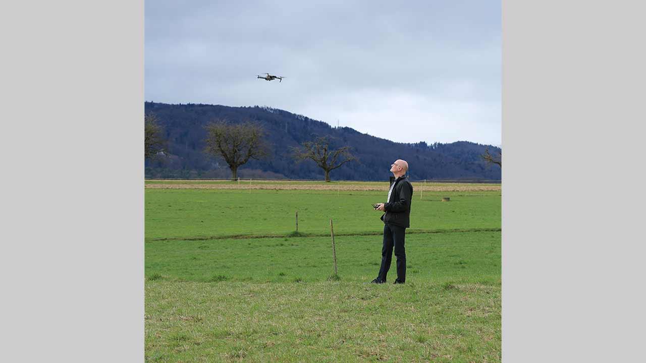 Drohnenflieger Beat Rudin