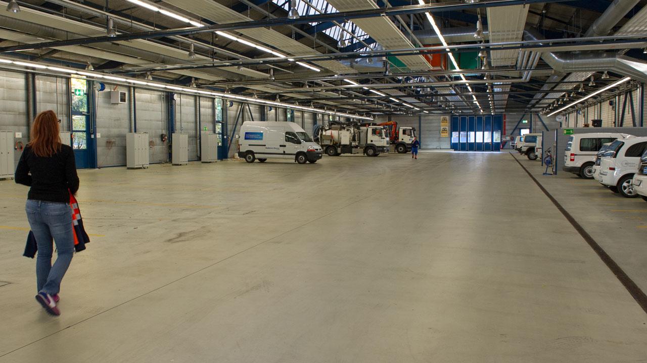 Fahrzeugehalle Stadt Zürich