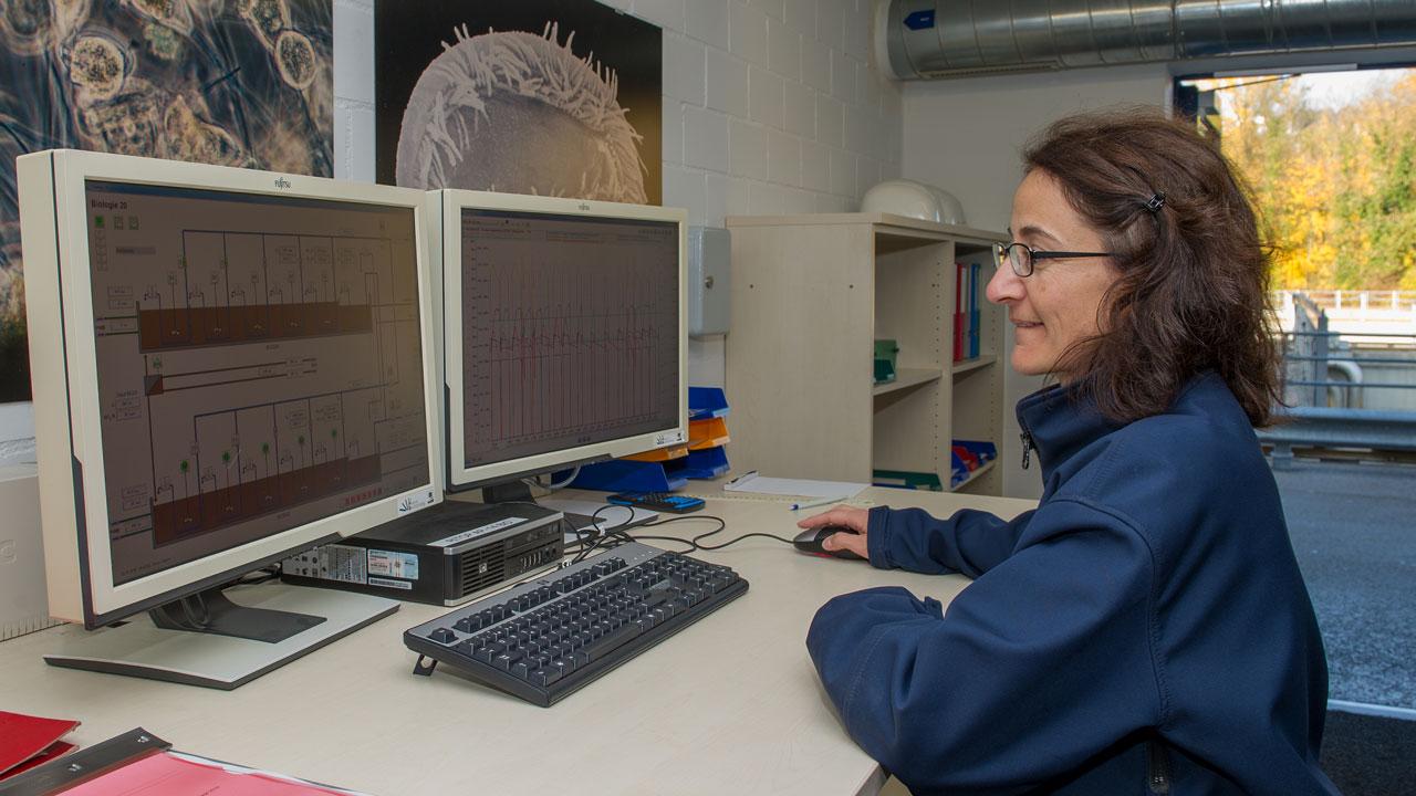 Sabine Burger, Umweltingenieurin ETH, Stadt Zürich